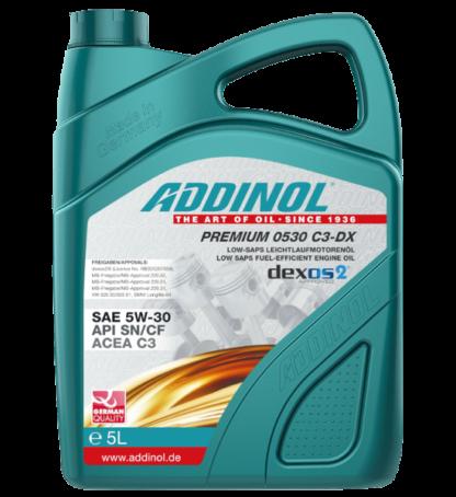 ADDINOL Motorolie Premium 0530 C3-DX - 5 liter