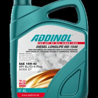ADDINOL Motorolie Diesel Longlife MD 1548 - 4 liter