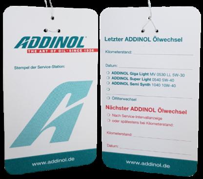 Addinol olieændringsmærke