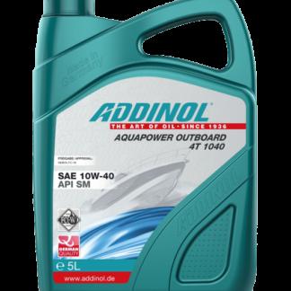 ADDINOL Motorolie AquaPower Outboard 4T 1040  - 5 liter
