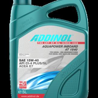 ADDINOL Motorolie AquaPower Inboard 4T 1540 - 5 liter