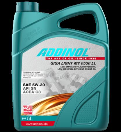 ADDINOL Motorolie Giga Light MV 0530 LL - 5 liter