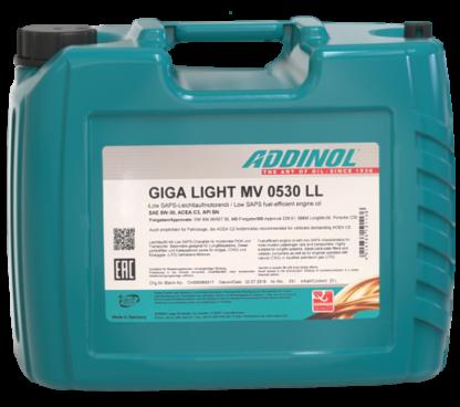 ADDINOL Motorolie Giga Light MV 0530 LL - 20 liter