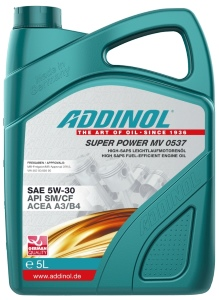 ADDINOL Motorolie Super Power MV 0537