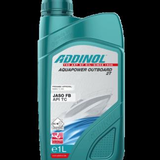 ADDINOL Mineralsk motorolie AquaPower Outboard 2T -1 liter