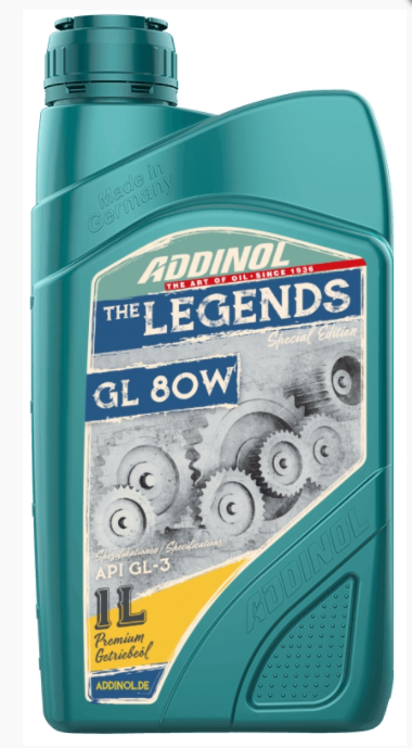 "ADDINOL Motorolie Gearolie GL 80W ""The Legends"" - Special Edition"