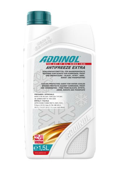 ADDINOL Kølevæske (rød) - ANTIFREEZE EXTRA -1,5 liter